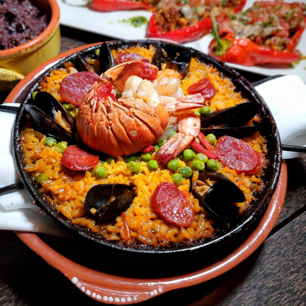 Cuban-style paella at Bloom Restaurant in Toronto. From the creators of Toronto Global Eats Challenge & Food Tour.