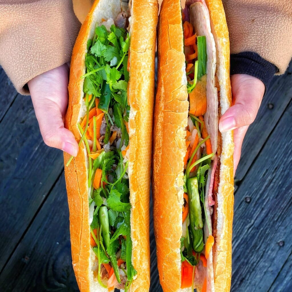Vietnamese banh mi at Banh Mi Saigon in Vancouver. From the creators of Toronto Global Eats Challenge & Food Tour.